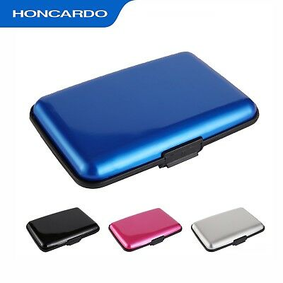 Credit Card Holder Anti RFID Aluminum Wallet Metal Case Contactless Protect