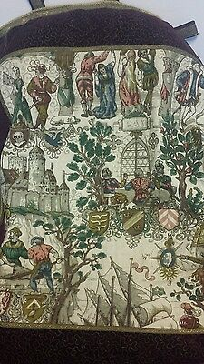 Rare Rosel Erzeugnisse Antique Tapestry Wall Hanging