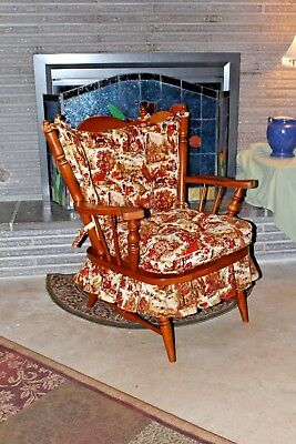 MID-CENTURY / TELL CITY SPRING ROCKER / 1960s / EARLY AMERICAN