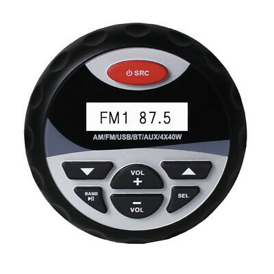 4 inch Waterproof Gauges  Style Car Stereo FM AM Radio Marine Audio Player Boat