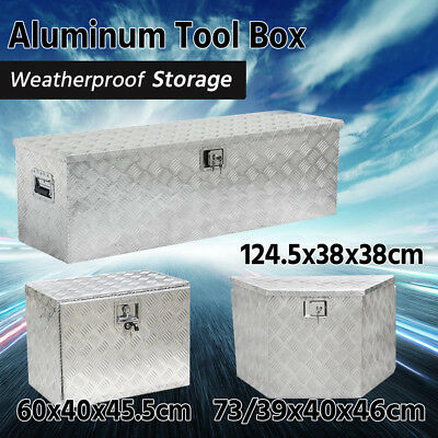 Aluminum Tool Box Trailer Truck Pickup Heavy Duty Underbody Storage Tool Box