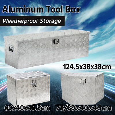 Aluminum UTE/Car/Truck Tool Box Trailer Pickup Underbody Heavy Duty Toolbox
