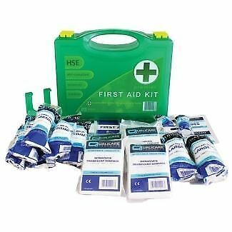 10/20/50 PREMIUM Person HSE Compliant First Aid Workplace Medical Kits CE Mark