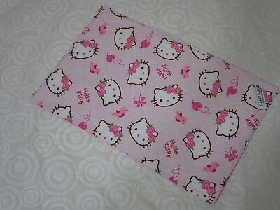 Baby changing mat 100% cotton-Hello Kitty.