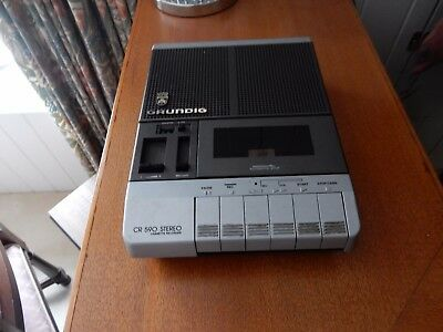 Grundig CR590 Stereo Cassette recorder in good working order