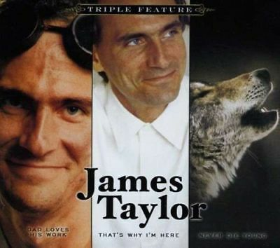 James Taylor - Triple Feature (3 Albums) [New & Sealed] 3 CD Digipack