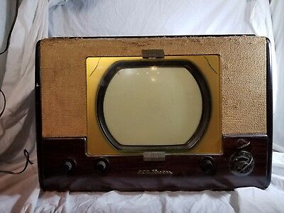 Round screen vintage televisions consider, that
