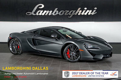 2017 McLaren 570 Base Coupe 2-Door LIFT+CC BRAKES+NAVIGATION+LIFT+SPORTS EXHAUST+LEATHER+ELECTRIC/HEATED SEATS