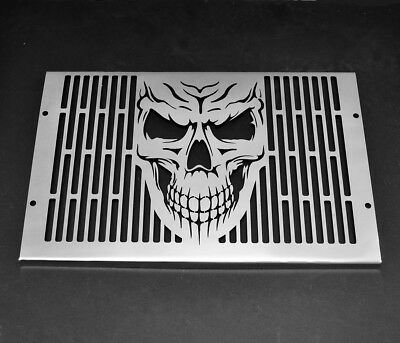 Yamaha Fzs 1000 Fazer (2000-05)Stainless Steel Radiator Skull Grill Cover Guard
