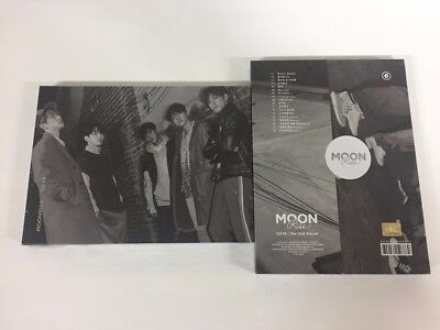 DAY6 2ND ALBUM - MOONRISE (Silver Moon ver) CD+PHOTOBOOK+PHOTOCARD+POSTER