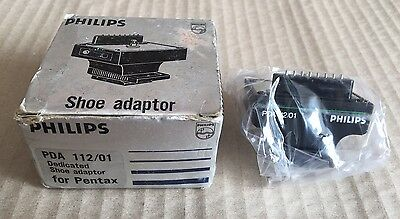 Philips PDA112/01 Shoe Adapter - New Boxed