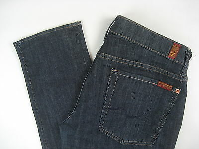 Seven 7 For All Mankind Maternity Jeans Roxanne Skinny Stretch Size 30 Medium