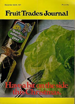 1977 23/30 DEC 54313 Fruit Trades Journal Magazine  UK CROP REPORT