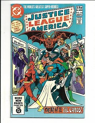 Justice League Of America # 194 (Sept 1981), Fn+