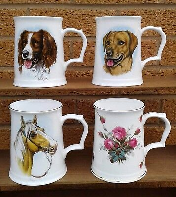 Hammersley (Royal Worcester Spode) - Selection Of Tankards.