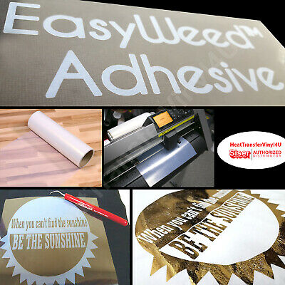 "Siser EasyWeed Adhesive - Attach Screen Prints and Hot Stamping Foil (12"" Width)"