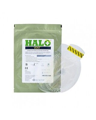 Chest Seal Halo Vented Occlusive Dressing x 1