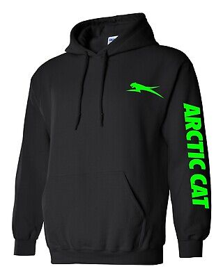 ARCTIC CAT style SNOWMOBILE Hoodie Sweatshirt UP TO 5X! Choose Design Color!