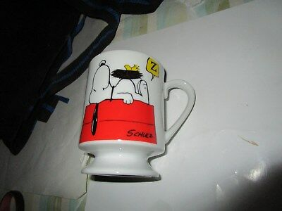 Snoopy - Cup - This Has Been A Good Day - 1956 & 1963 - United Features - Schulz