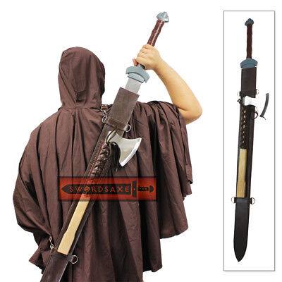 Viking Knights Thor's Champion Sword & Axe Set Winter's Bite Officially Licensed