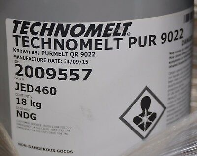 18KG Drum of Henkel Technomelt PUR 9022 PURMELT QR Hot Melt Glue Clear 2009557