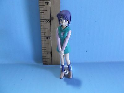 "Love Hina 3.5""in Cute Girl Green Outfit"