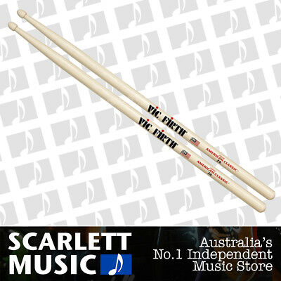 Vic Firth American Classic 7A Wood Tip Drumsticks ( 7-A Drum Sticks )