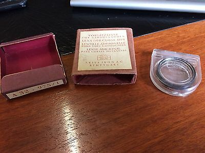 Zeiss Opton A32 Push Fit Proxar 1M Close Up Lens 32mm - Zeiss Ikon Germany USED