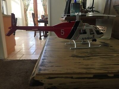 Diecast Los Angeles la city fire department bell 206 helicopter