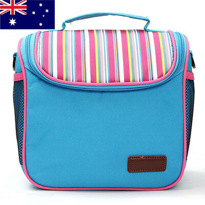 AU Portable Camping Picnic Food Storage Cool Box Insulated Thermal Cooler Bag