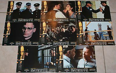 Christian Slater Murder in the First lobby card set 8 Kevin Bacon Gary Oldman
