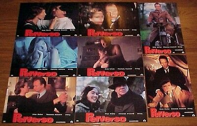Theresa Russell Sting lobby card set 8 Grotesque Alan Bates