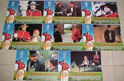 Brendan Fraser Dudley Do-Right 8 lobby cards  Sarah Jessica Parker rcmp mounties
