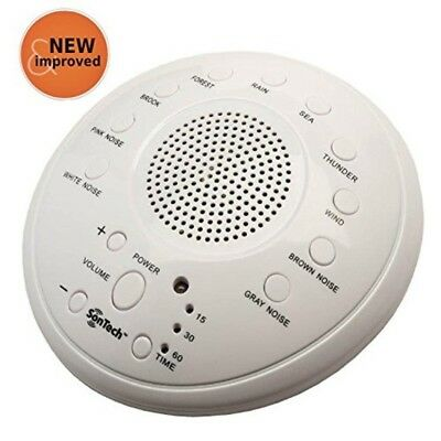 Noise Baby Easy Sleep Sound Spa Relax Machine Nature BEST Night Therapy White