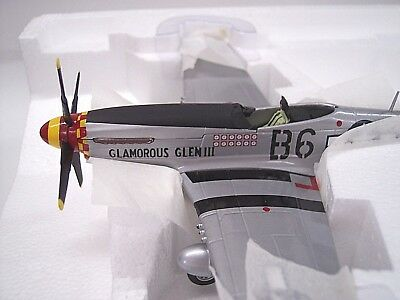 Franklin Mint / Collection Armour P-51 Mustang Glamorous Glen 1:48