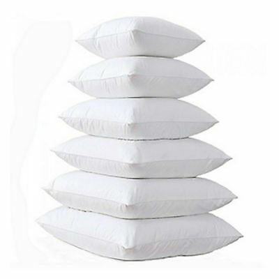Hollowfibre Filled Cushion Inner Inserts Pads Sets Pack of 2 4 6 chair sofa bed