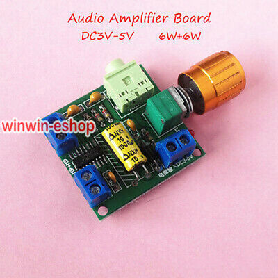Digital PAM8406 DC3v-5V Class D Dual Channel Stereo Audio Power Verstärker Board