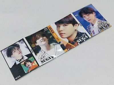 Suga BTS BangTan Bang Tan Boys Portable Photo Memo Pad KPOP Jhope Jimin Jungkook