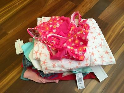 Free Post Girls ALL NEW Bulk Summer Clothing Size 5, 13 Items,Roxy,Hurley