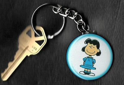 LUCY VAN PELT of Peanuts Charlie Brown by Charles Schulz Key Chain KEYCHAIN