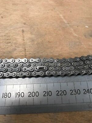 Metal Mechanical Motor Drive Chain 500cm Looped 5mmx6mm Roller Chain Sprockets