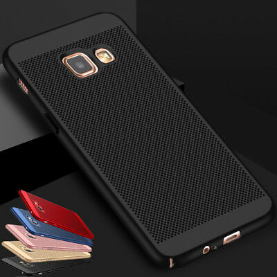Slim Matte Hybrid Hard PC Case Cover For Samsung Galaxy A3 A5 A7 2017 A6 A8 2018