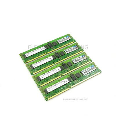 Micron 32GB (4x8GB) 1Rx4 PC3-12800R HP P/N: 647651-081 Server Speicher