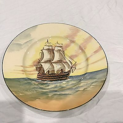 royal doulton plate the victory d5957