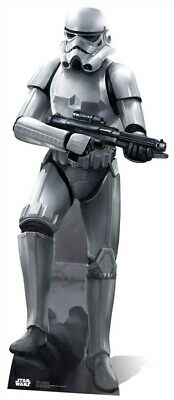 Pappaufsteller (Stand Up) Star Wars Stormtrooper in Kampfpose (188 cm)