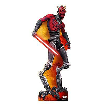Pappaufsteller (Stand Up) Star Wars Clone Wars Darth Maul (196 cm)