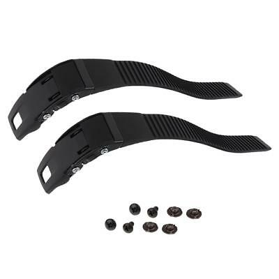 2Pcs Inline Roller Skate Strap with Screws for Fixing Roller Skates Shoes