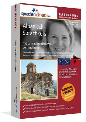 Sprachenlernen24.de Albanisch-Basis-Sprachkurs. PC CD-ROM + MP3-Audio-CD, U ...