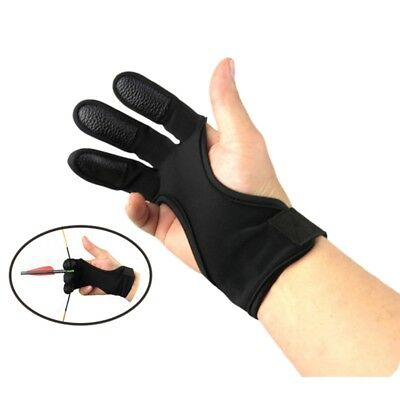 New Archery Glove Classic Right Hand Finger Protection Target Practice Equipment