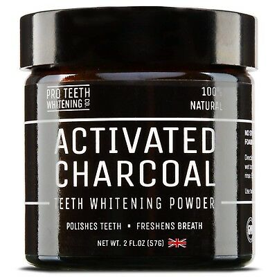 Activated Charcoal Natural Teeth Whitening Powder Pro Teeth High Purity Whitener